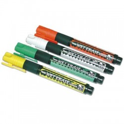 feutres staedtler lumocolor soluble pochette de 4 couleurs assorties