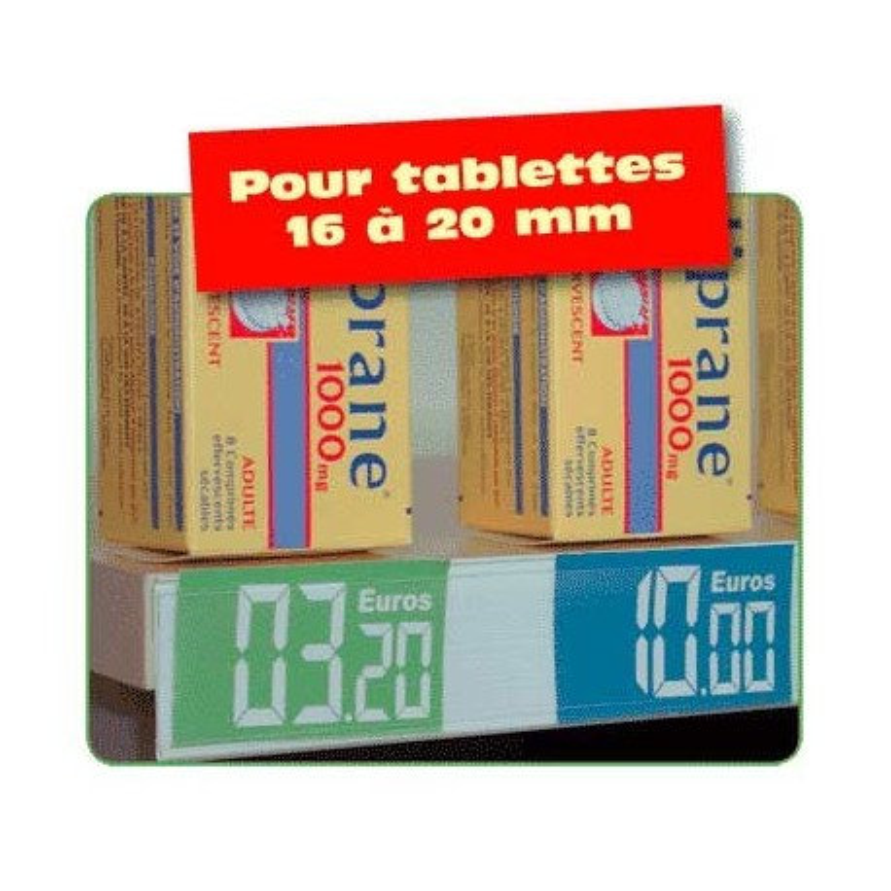 PORTE PRIX (10 PROFILES) 30mmx1m