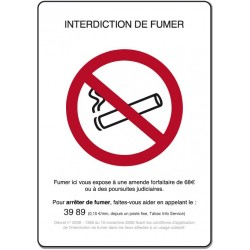 Interdiction de fumer