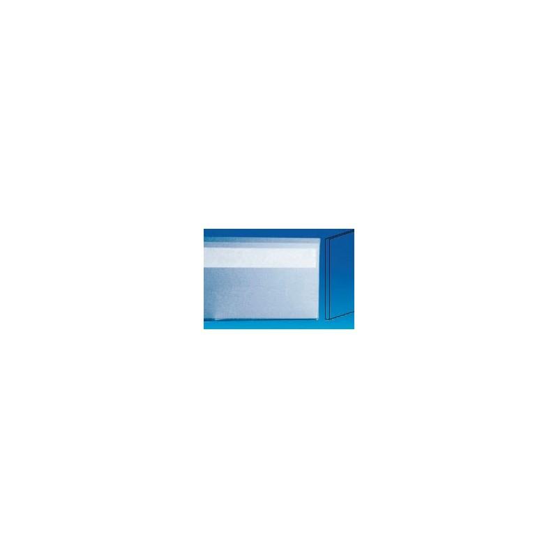 GLISSIERES PORTE ETIQUETTE ECO ANTIREFLET (LOT DE 10)