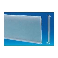lineaire porte prix adhesif 1330x40mm (lot de 10)