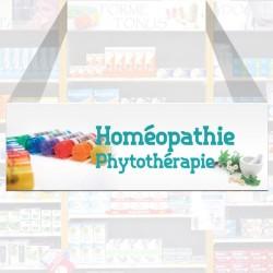 Bandeau d'ambiance Homéopatie, Phytotérapie - Illustration standard par Photomatix