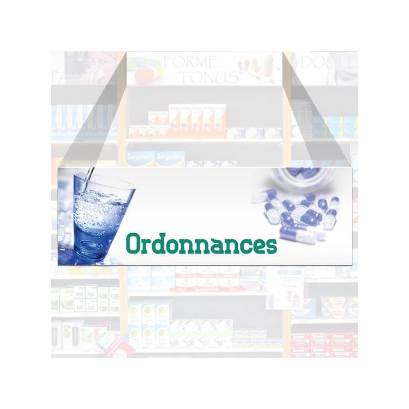 Tête de rayon Ordonnances - Illustration standard par Photomatix