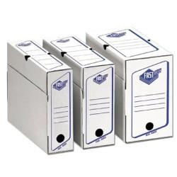 Boîte à archives eco A4 superposable d80mm 330x250mm par 25