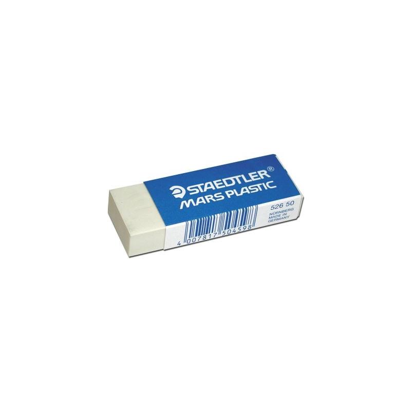 GOMMES STAEDTLER MARS PLASTIQUE par 2