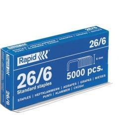 Agrafe 24*6 boites de 5000 agrafes galva