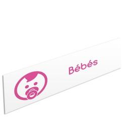 """Bandeau d'ambiance Bébés - Illustration """"bébé"""""""