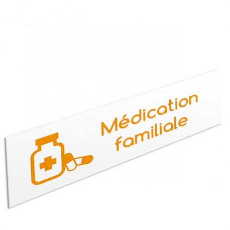 Tête de rayon Médication familiale - Illustration standard par Pictographix