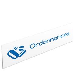 """Bandeau d'ambiance Ordonnances - Illustration """"comprimés"""""""