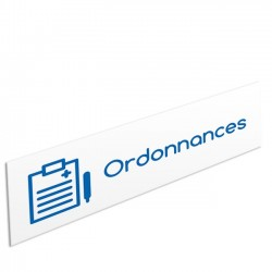 "Bandeau d'ambiance Ordonnances - Illustration ""bloc notes"""