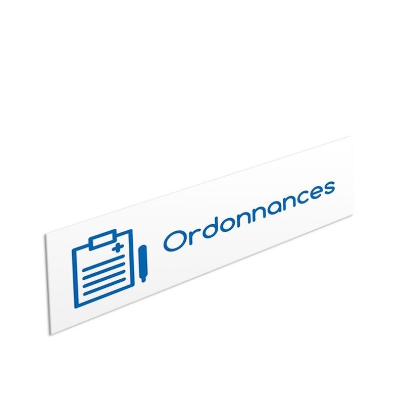 Tête de rayon Ordonnances - Illustration standard par Pictographix