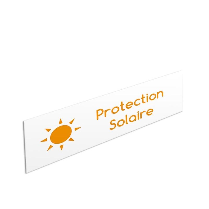 Tête de rayon Protection Solaire - Illustration standard par Pictographix