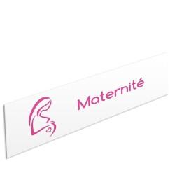 """Bandeau d'ambiance Maternité - Illustration """"enceinte"""""""