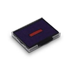 Encreur bicolore Trodat Metal Line 5207 5470 - blister de 3