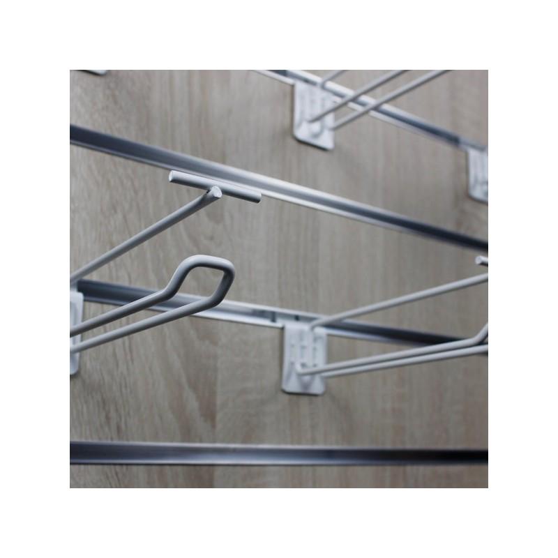 Broche simple fil pour panneau rainuré
