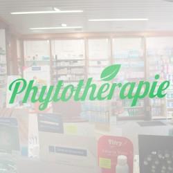 Visuel Phytothérapie 80 x 22 cm pour vitrophanie