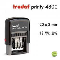 Dateur Trodat Printy 4800, (20x3mm)