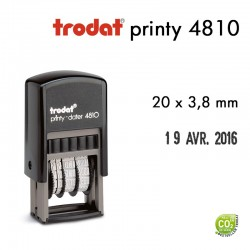 Dateur Trodat Printy 4810, (20x3,8mm)
