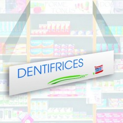 Bandeau d'habillage illustré - Dentifrices