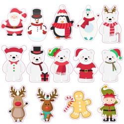 Stickers Noël - 30 x 20 cm