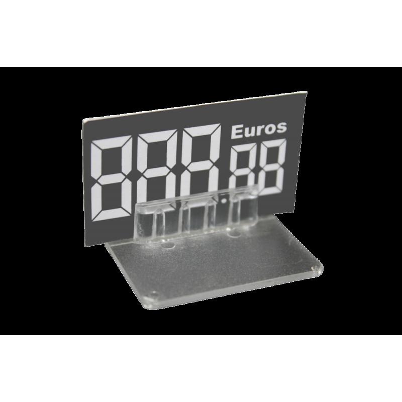 SUPPORT PRIX 40x50mm (LOT DE 10)
