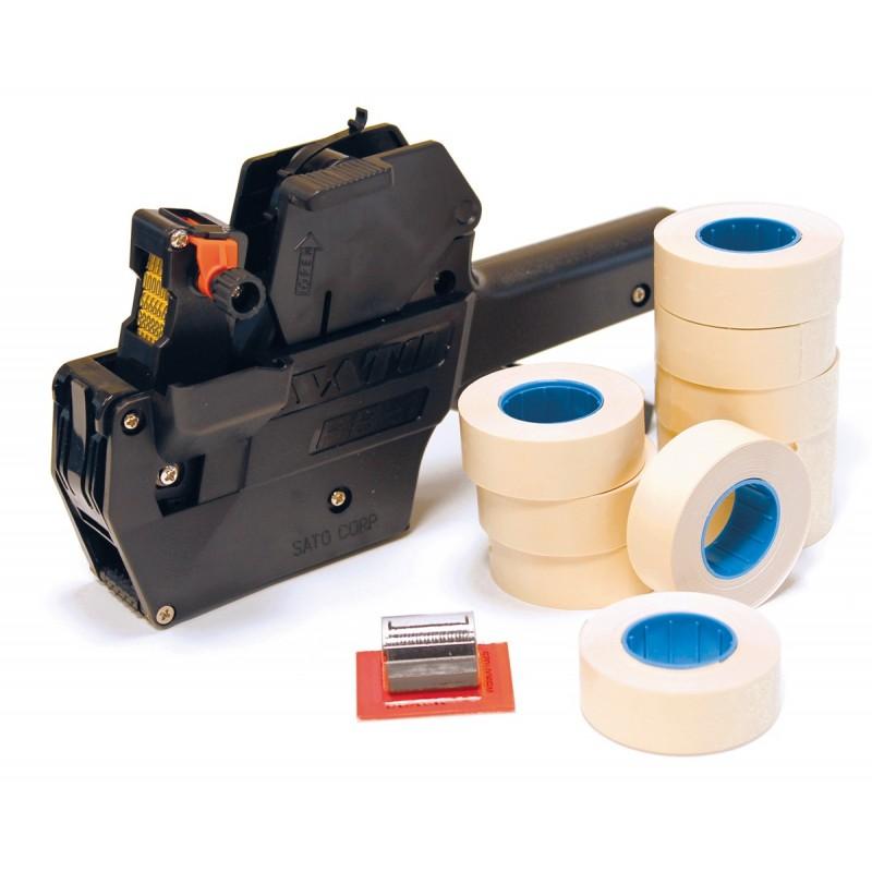 Pack étiquetage SATO PB1 + 5 encreurs +10000 étiquettes