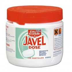 Javel dose desinfectante 156 tablettes