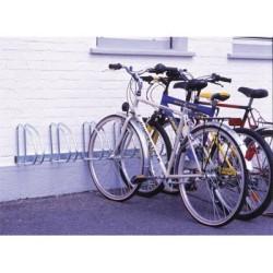 Range vélos type râtelier mural - 5 places
