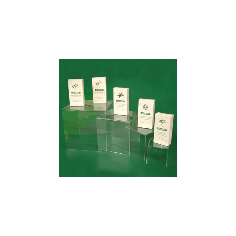 tables gigognes carr es plexiglas lot de 4 rubex pharma. Black Bedroom Furniture Sets. Home Design Ideas