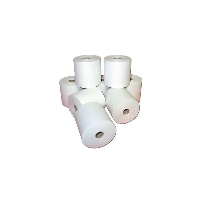 Bobine papier thermique pour TPE - le lot de 20 - Dimensions 57 x 40 x 12 mm -