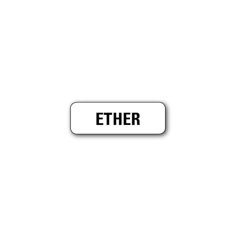 """720 ETIQUETTES 38*13MM IMP """"ETHER"""""""
