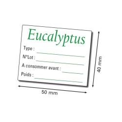 Etiquette herboristerie 50x40 mm personnalisée par 112