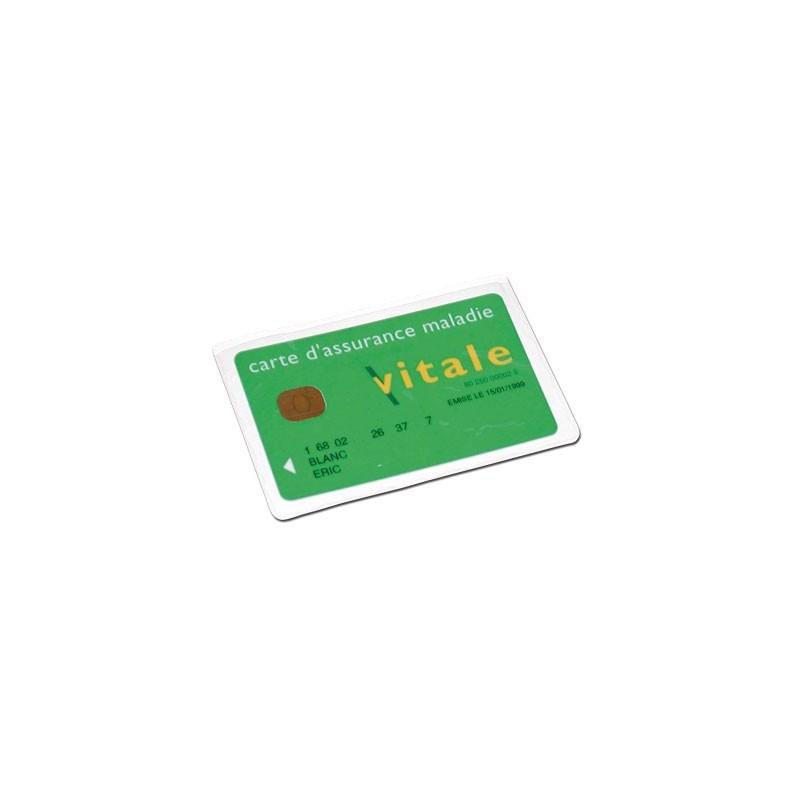 Porte-carte Vitale PVC ECO - 1 poche - Non personnalisé