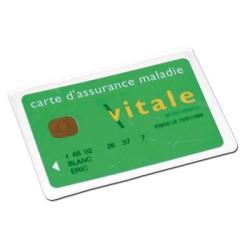porte carte 1 poche 95x65 mat personnalise