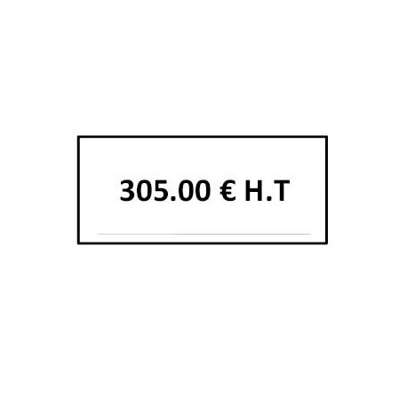 ROULEAU 1500ETIQ 30*21MM SATO PB3 208