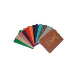 Porte ordonnance PVC Velour souple 3 poches240x155mm