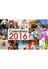 Couverture catalogue calendriers Print 2016