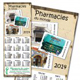 Calendriers publicitaires pharmacie