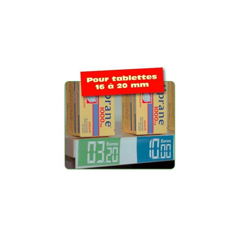 PORTE PRIX (10 PROFILES) 20mmx1m