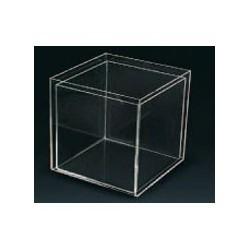 Boite distributrice plexiglas 20x20x20cm