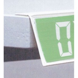 lineaire porte prix adhesif 1000x26mm (lot de 10)