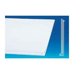 lineaire porte prix adhesif 1330x32mm (lot de 10)
