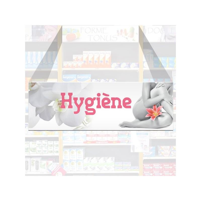 Tête de rayon Hygiène - Illustration standard par Photomatix