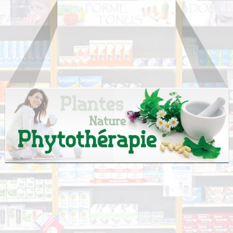 Tête de rayon Phytothérapie - Illustration standard par Photomatix