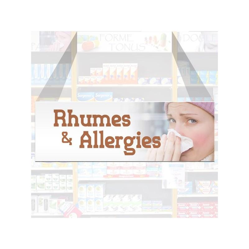 Tête de rayon Rhumes & allergies - Illustration standard par Photomatix