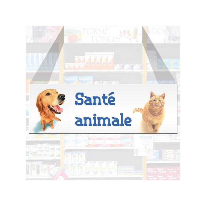 Tête de rayon Santé animale - Illustration standard par Photomatix