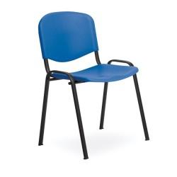 Chaise d'attente simple par lot de 4