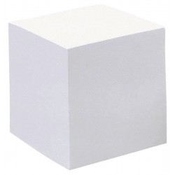 Recharge bloc note cube 800f 90x90mm