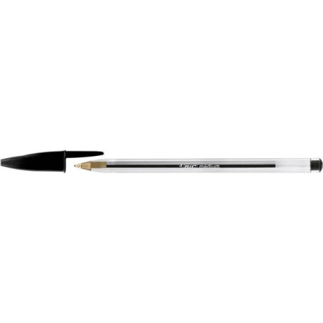 Stylo bille bic cristal trait 0,4mm par 50