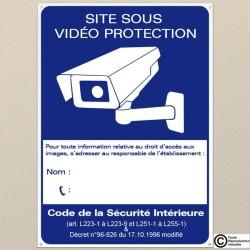 Panneau Vidéo Surveillance